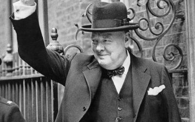Churchill, Leadership und was ein kleines Bild damit zu tun hat.